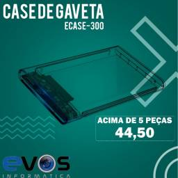 case de gaveta USB 3.0 HD 2.5