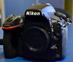 Nikon D810 com apenas 29 mil clicks