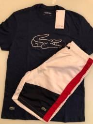 Camiseta + calção (tamanho P)
