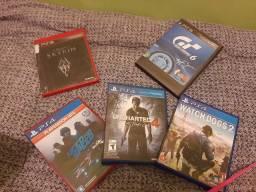 Jogos PS4 e ps3