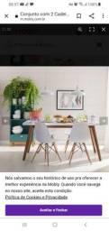 Título do anúncio: 4 cadeiras Eames  por 600,00
