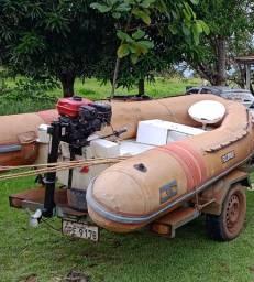 Bote flexboat sr12