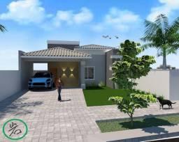 Casa com 3 dormitórios sendo 1 suíte à venda, 113 m² por R$ 530.000 - Residencial Aquarela
