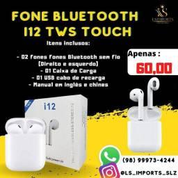 Fone Bluetooth i12 tws - (ENTREGA GRÁTIS)