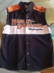 Título do anúncio: Colete Original Harley Davidson M