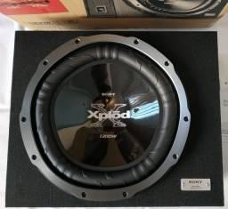 Caixa nova da Sony Xplod  XS-GTX150LE com Subwoofer de 15 1300W