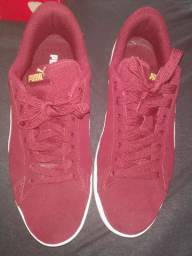 Tênis puma smash bordo 42