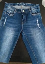 Calça jeans Feminina Tam 16