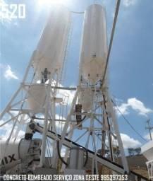 Título do anúncio: Concreto Bombeado Usinado Santa Cruz