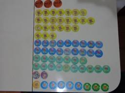 Tazos Elma Chips Anos 90 - 73 Tazos Inéditos - Coleção