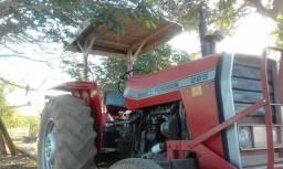 Trator mf 265 ano 85