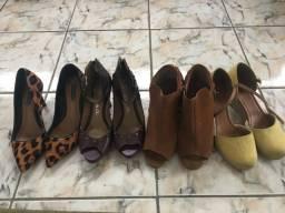 Sapatos femininos - 36/37 - preço de todos