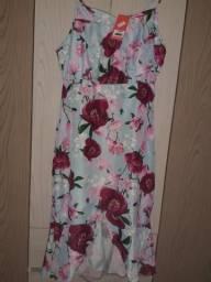 Vestido floral (Troco ou vendo)
