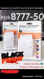 Repetidor de Sinal Wi-Fi sem fio para aumentar seu sinal