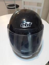 Capacete ebf tamanho 58 usado