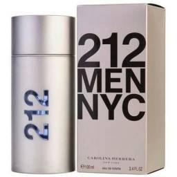 212 Men Nyc Carolina Herrera - Perfume Masculino - Eau De Toilette 100ml