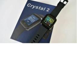 Zeblaze Cristal 2 Hr Monitor De Atividade Smartwatch - Preto