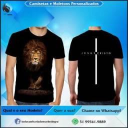 Camisetas Personalizadas Só Adore! Confira!