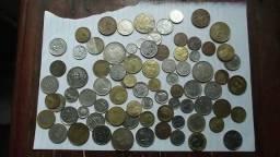 Vendo moedas antigas e atuais