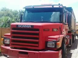 Cavalo 112 hs 89 + Carreta Caçamba 95