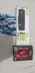 Mouse gamer + teclado