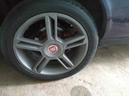 Troco pneus 225/45/17 por perfil mais baixo