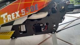 T-rex 550e Flaybarless 3GX Flybarless System
