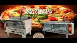 Título do anúncio: Forno para pizza duplo a gás Marca Cristal Aço ! Somos loja!! NOVO!!