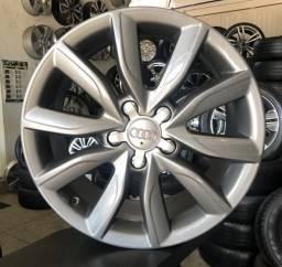 Rodas Audi aro 17 Originais Furacão 5x112 2013/2014/2015 até 2018 7,5X17 Off-Set 56