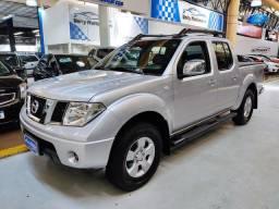 Nissan Frontier LE 2.5 Diesel 4X4 Prata 2011 (Completa + Couro)