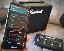 Cubo Guitarra Marshall Code 25 Bluetooth Usb + pedal