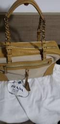 Bolsa de couro feminina PRADA