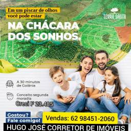 Título do anúncio: CHÁCARAS COM LAZER E RIO PERTO DE GOIÂNIA