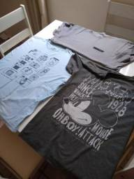 Camisas Sueper conservadas! Tamanho M! Extra!