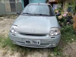 Clio Sedan RT 1.0 16V 2002 - 2002