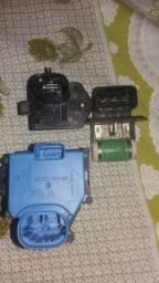 Sonda lambda e sensores diversos