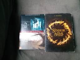 Dvd trilogia senhor dos anéis e invocação do mal 1 e 2