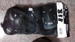 Equipamento proteção roller skate patinete bike