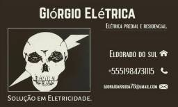 Eletricista residencial e predial.