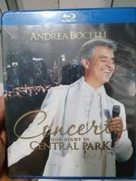 Blu Ray Andrea Bocelli concert one nigth in Central Park