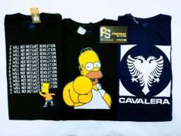 Camisetas R$ 25,00