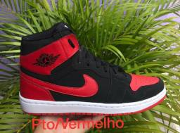 Basqueteira Nike Air Jordan ( 38 ao 43 ) -- 2 Cores Disponíveis