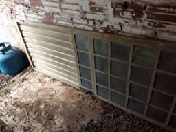 Porta e janela metálica reforçadas