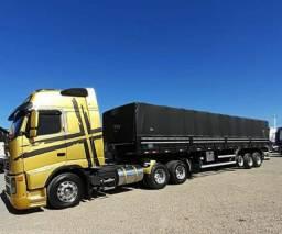 Conjunto Volvo FH440 + Carreta Graneleira - Via Reserva de Domínio