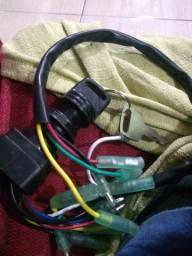 Comutador de ignição motor poupa Yamaha