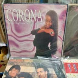 Corona Lp vinil, disco e capa originais da epoca.