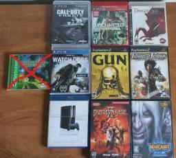 Pack de Jogos Ps1 , Ps2 , Ps3 e PC Originais