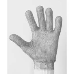 Título do anúncio: Luva Malha de Aço Chinemax 5 Dedos Tamanho G