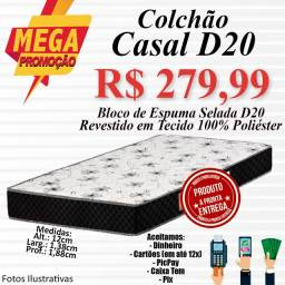 Título do anúncio: COLCHÃO CASAL D20