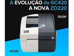 Impressora Térmica de Etiquetas Zebra ZD220